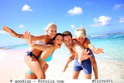 Familienrabatte für die Familie - Urlaub mit Kindern am Meer