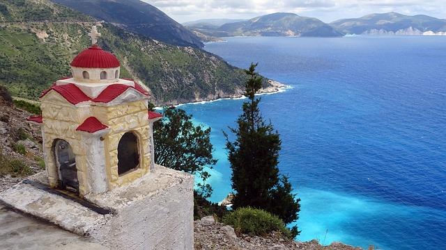 Griechenland Blick aufs Mee