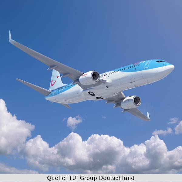 TUIfly Flugzeug