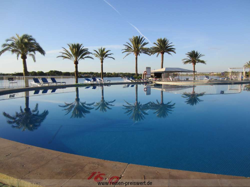 Pool Bellevue Club Alcudia Binnensee