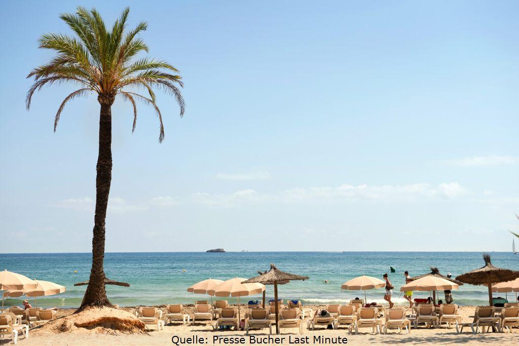 Ibiza Urlaub am Strand