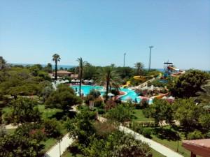 Belconti Resort von oben