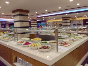 Belconti Resort Salat Buffet