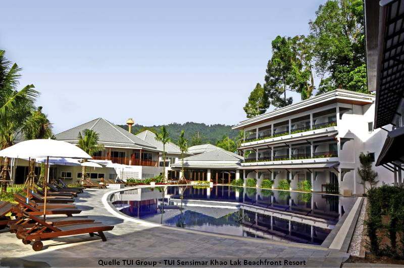 Pool TUI Sensimar Khao Lak Beachfront Resort Pool