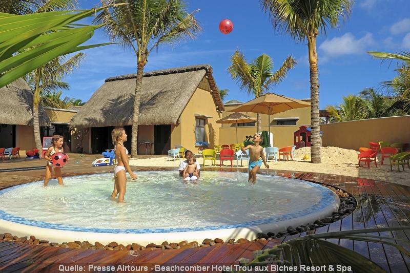 Miniclub Spaß für Kinder im Luxushotel - Beachcomber Trou aux Biches Resort