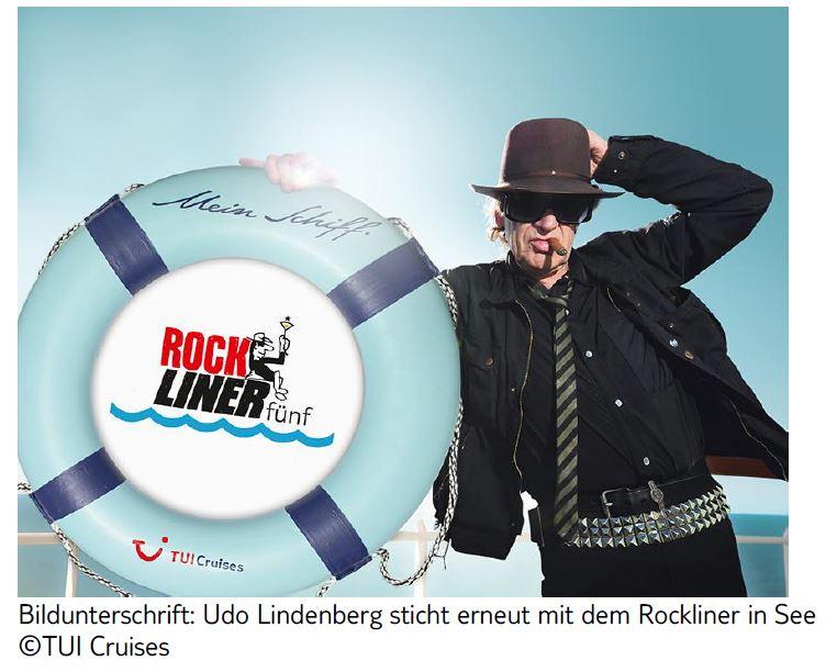 Udo Lindenberg auf Mein Schiff 3 Rockliner