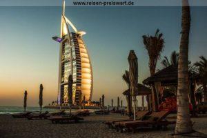Urlaub in Dubai - Burj al Arab