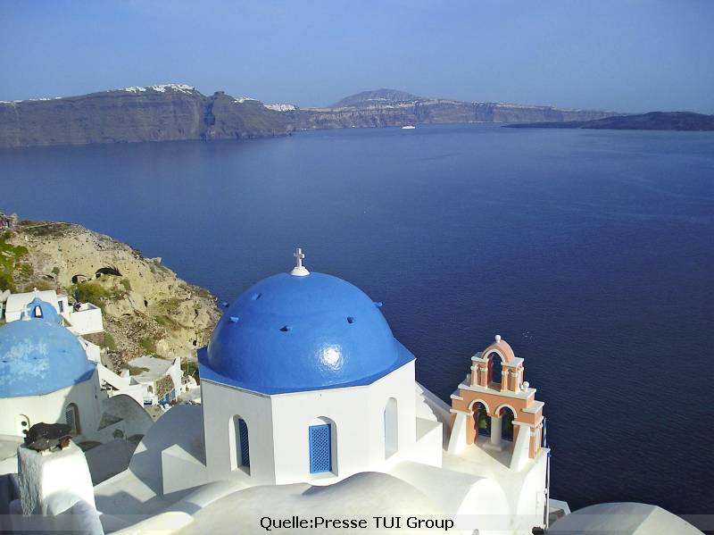 Urlaub im Sommer in Griechenland am Meer