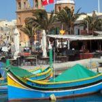 Urlaub - der Hafen von Malta - Schiffe Boote