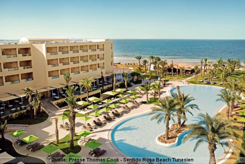 Urlaub in Tunesien SENTIDO Rosa Beach Hotel