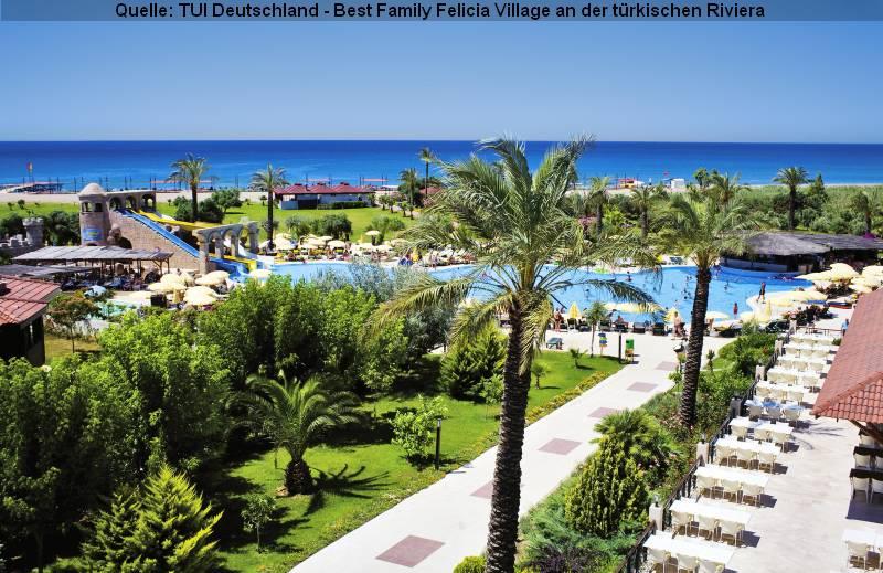 Familienurlaub Best Family Felicia Village an der türkischen Riviera