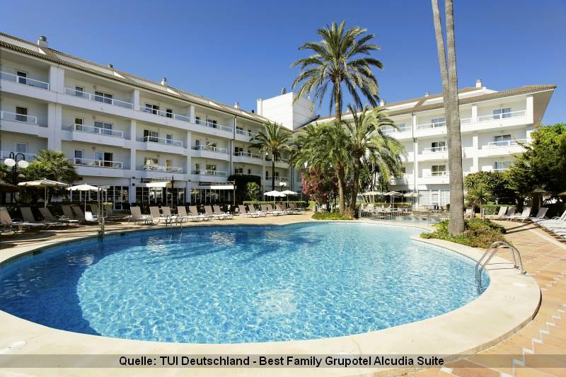 Mallorca Urlaub im Best Family Grupotel Alcudia Suite ist ideal für Familien