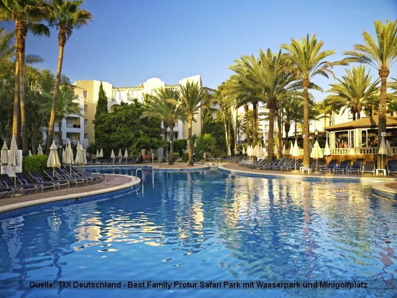 Urlaub auf Mallorca im Best Family Grupotel Alcudia Suite ist ideal für Familien
