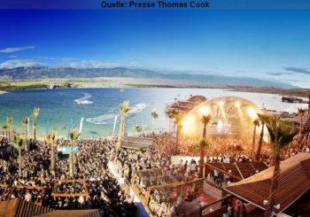 Partyurlaub in Kroatiens Trendziel Zrće Beach, Ibiza & Bulgarien Goldstrand Urlaub