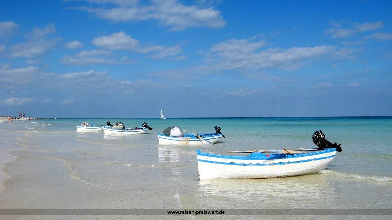 Preiswert Urlaub in Tunesien - Sommer, Sonner, Strand