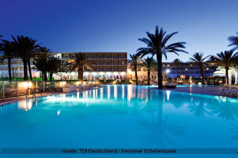Tunesien Urlaub im Sensimar Scheherazade in Sousse