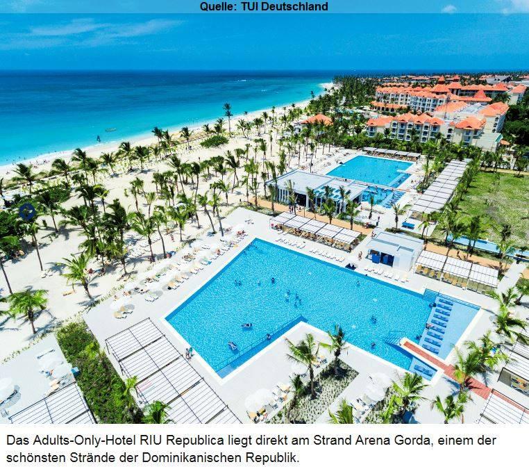Hotel Riu Republica Dominikanische Republik