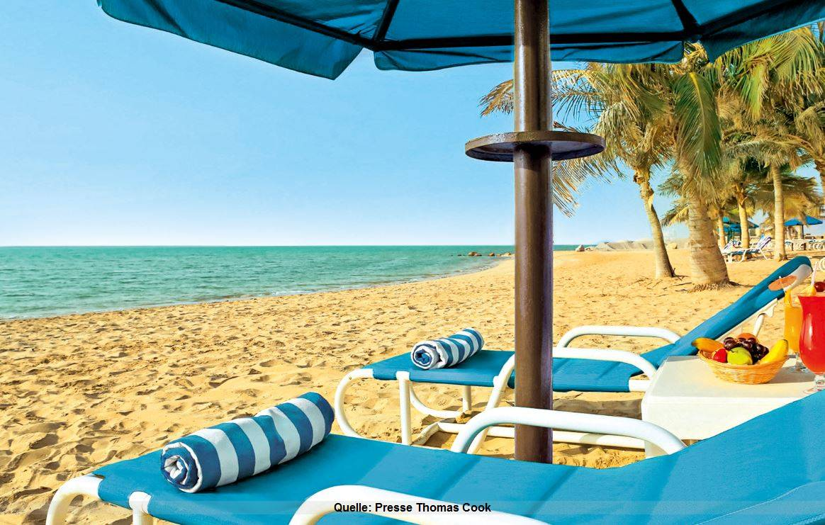 Eröffnung Urlaub im smartline Ras Al Khaimah Beach Resort