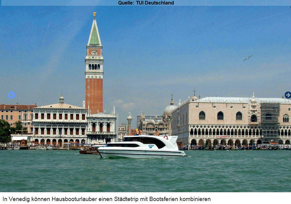 urlaub auf dem hausboot venedig. Black Bedroom Furniture Sets. Home Design Ideas