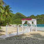 Flitterwochen im Hotel Banyan Tree Seychellen