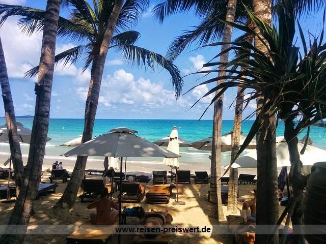 Urlaub auf Koh Samui in Thailand