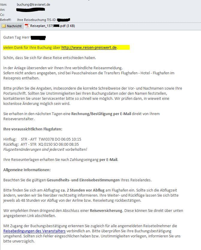 Du buchst Urlaub - wir Spenden www.reisen-preiswert.de
