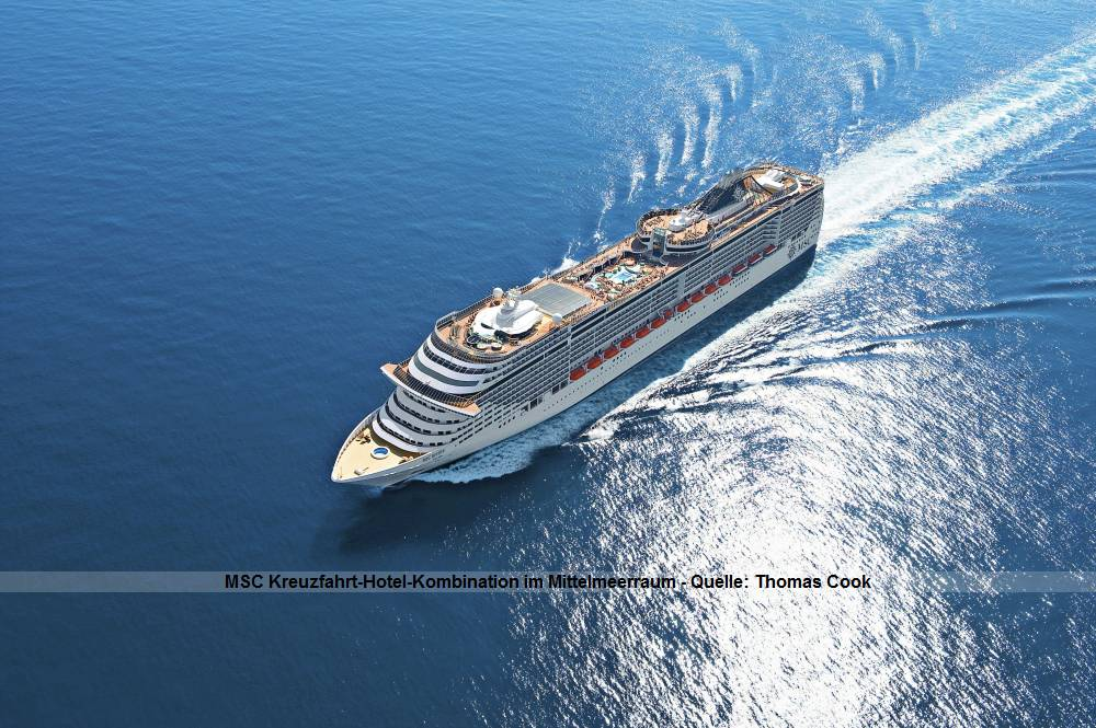 MSC Divina - Kreuzfahrt auf dem Mittelmeer und Hotel auf Mallorca