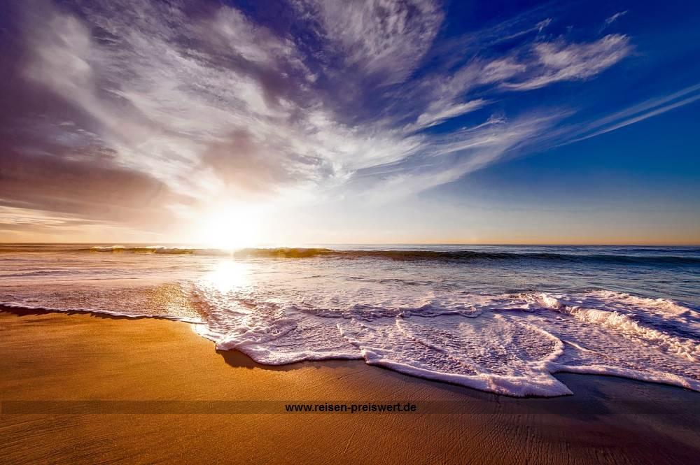 Urlaub mit Sonner mehr und Strand