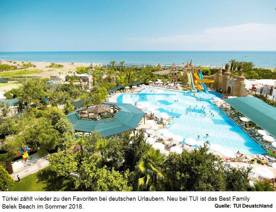 Nachfrage steigt - Rabatte und Familenpreise in der Türkei - Im Sommer Urlaub im Best Family Belek Beach in der Türkei