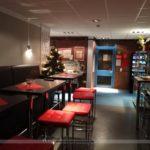Lounge und Frühstücksecke in der Jugendherberge Oldenburg