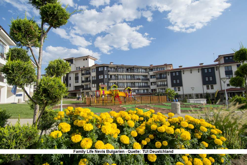 TUI Familiy Life Nevis Resort Bulgarien - Urlaub am Sonnenstrand