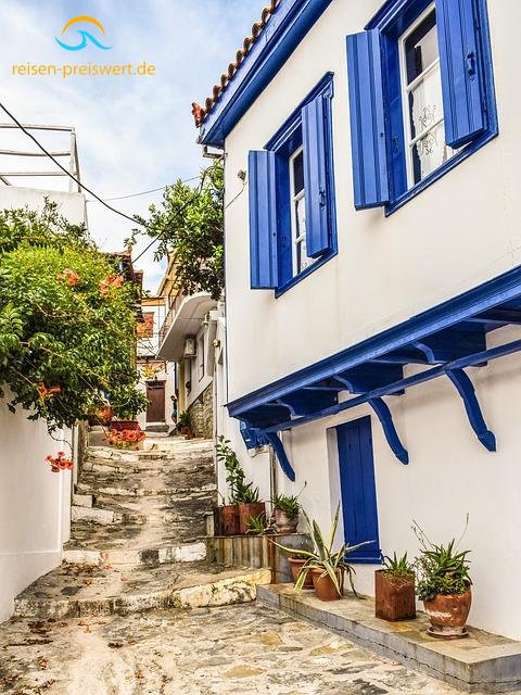 Haus in Chora auf Skopelos - Urlaub in Griechenland