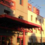 Eingang vom Motel 24h Frechen