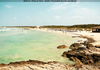Strände wie in der Karibik gibt es auf den Balearen…