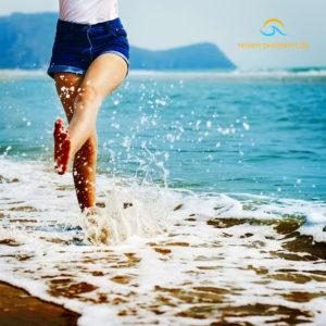 Frübucher: Urlaub im Sommer buchen Strand Meer Wasser