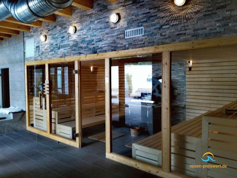 Sauna im Hotel Badehof Bad Salzschlirf - www.reisen-preiswert.de