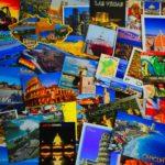 Collage mit Postkarten