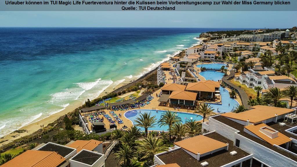 TUI Magic Life Fuerteventura - Luftbild Strand Meer