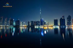 Dubai bei Nacht - VAE