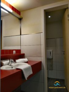 Badezimmer Jugendherberge Koblenz