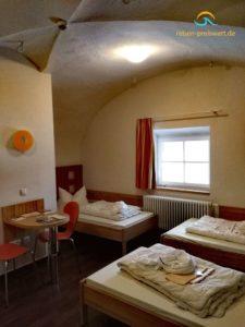 Familienzimmer in der Jugendherberge Koblenz Festung Ehrenbreitstein