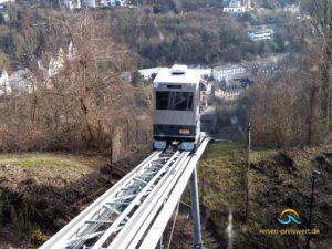 Schrägaufzug zur Jugendherberge Koblenz Festung Ehrenbreitstein