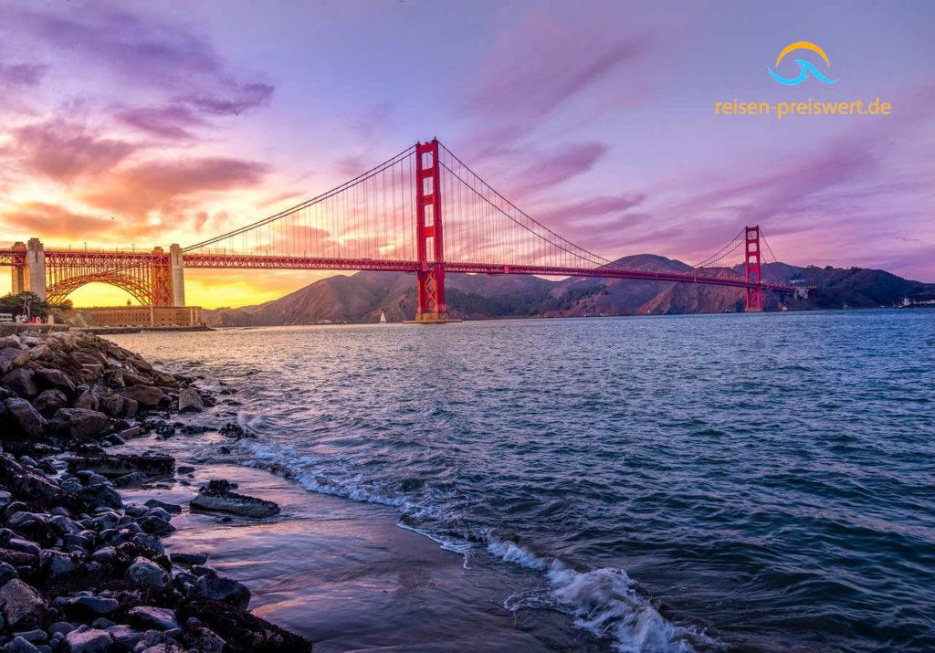 Die Golden Gate Brücke in San Francisco