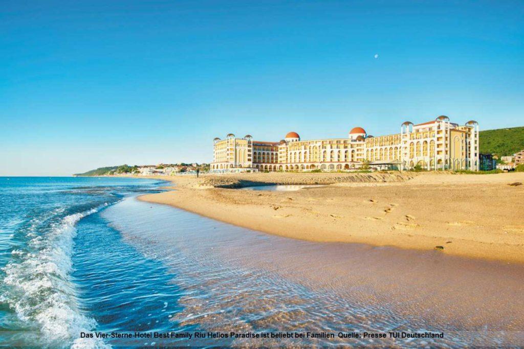 Best Family Riu Helios Paradise - Strand und Urlaub in Bulgarien