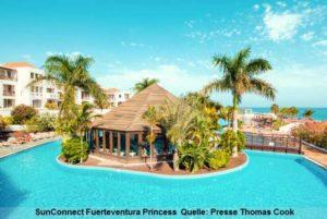 Playa de Esquinzo: Pool des SunConnect Fuerteventura Princess auf Fuerteventura