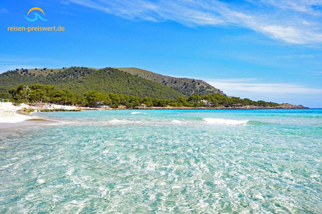 Mallorca - Strand in der Bucht von Cala Agulla bei Cala Rajada