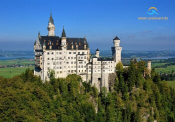 Schloss Neuschwanstein – Platz 10 der schönsten Gebäude der Welt